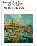 【輸入楽譜】ヴィヴァルディ, Antonio: バイオリン協奏曲 F.I, N.23 Op.8/2 「四季」より 夏
