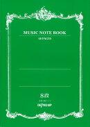MUSIC NOTE BOOK音楽5線ノート8段