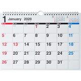 E61 エコカレンダー壁掛A4(2020) ([カレンダー])