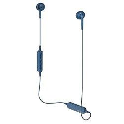 オーディオテクニカ ワイヤレスヘッドホン ブルー ATH-C200BT BL
