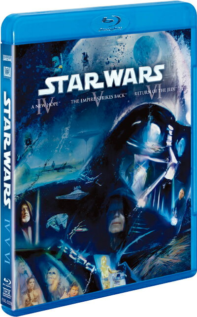 スター・ウォーズ オリジナル・トリロジー ブルーレイコレクション<3枚組> 【Blu-ray】 [ マーク・ハミル ]