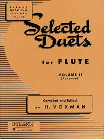 SELECTED DUETS FOR FLUTE:VOLUME II [ HIMIE VOXMAN ]