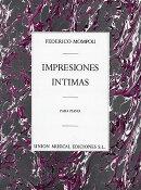 【輸入楽譜】モンポウ, Federico: 内なる印象