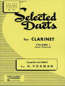 Selected Duets for Clarinet: Volume 1 - Easy to Medium