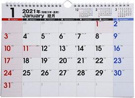 2021年版 1月始まりE62 エコカレンダー壁掛 高橋書店 A4サイズ (壁掛)