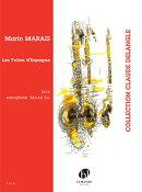 【輸入楽譜】マレー, Marin: スペインのフォリア/Delangle編