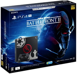 PlayStation4 Pro Star Wars Battlefront II Limited Edition 【PlayStation4 ゲットチャンスキャンペーン:今、PS4を買うとNewみんなのGOLFもらえる!】