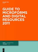 Guide to Microforms and Digital Resources