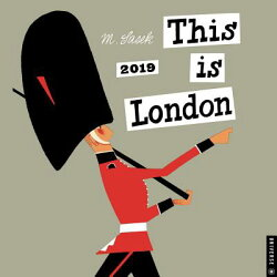 This Is London 2019 Wall Calendar