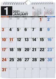 2021年版 1月始まりE65 エコカレンダー壁掛 高橋書店 A4サイズ (壁掛)