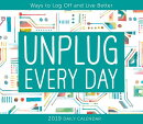 2019 Unplug Every Day Boxed Daily Calendar: By Sellers Publishing