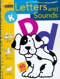Letters and Sounds (Kindergarten) WORKBK-LETTERS & SOUNDS (KINDE (Step Ahead Golden Books Workbook) [ Lois Bottoni ]