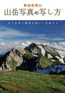 菊池哲男の山岳写真の写し方