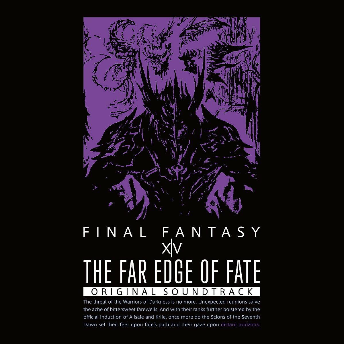 THE FAR EDGE OF FATE: FINAL FANTASY XIV ORIGINAL SOUNDTRACK(初回仕様限定盤)【映像付サントラ/Blu-ray Disc Music】
