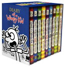 Diary of a Wimpy Kid Box of Books 1-8 + the Do-It-Yourself Book