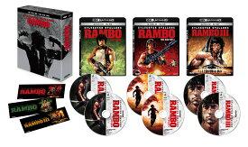 ランボー・トリロジー 4K Ultra HD Blu-ray BOX(6枚組)【4K ULTRA HD】 [ リチャード・クレンナ ]