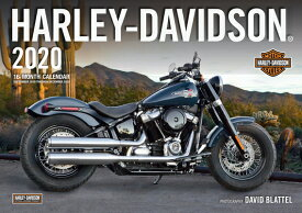 Harley-Davidson 2020: 16-Month Calendar September 2019 Through December 2020 HARLEY-DAVIDSON 2020 [ Editors of Motorbooks ]