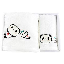 【ポイント交換限定】お買いものパンダ 今治タオルセット 〜ピクニックシリーズ〜