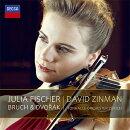 【輸入盤】ブルッフ&ドヴォルザーク:ヴァイオリン協奏曲 ユリア・フィッシャー、ジンマン&トーンハレ管弦楽団