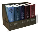 A Game of Thrones Leather-Cloth Boxed Set: A Game of Thrones, a Clash of Kings, a Storm of Swords, a