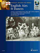 English Airs & Dances: 16 Easy to Intermediate Pieces from 18th-Century England Violin (Flute or Obo