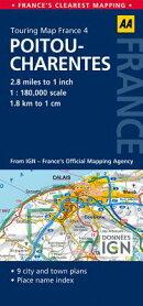 Road Map Poitou-Charentes