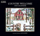 Country Welcome 2019 14x12.5 Wall Calendar