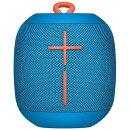 Ultimate Ears WONDERBOOM ポータブル ワイヤレス Bluetooth スピーカー ブルー WS650BL