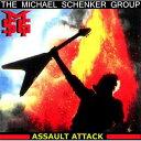 【輸入盤】Assault Attack - New Version (Rmt) [ Michael Schenker Group ]