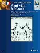 Vaudeville & Menuet: 16 Easy to Intermediate Pieces from 18th Century France Violin (Flute or Oboe)