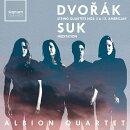 【輸入盤】ドヴォルザーク:弦楽四重奏曲第12番『アメリカ』、第5番、スーク:聖ヴァーツラフ瞑想曲 アルビオン四…