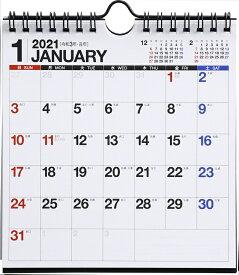 2021年版 1月始まりE103 エコカレンダー壁掛・卓上兼用 高橋書店 A5変型サイズ (壁掛・卓上兼用)