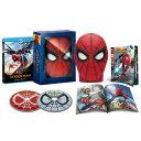 【楽天ブックス限定】スパイダーマン:ホームカミング ブルーレイ & DVDセット スパイダーマンの目が動く!マスク型…