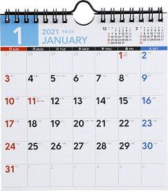 2021年版 1月始まりE105 エコカレンダー壁掛・卓上兼用 高橋書店 A5変型サイズ (壁掛・卓上兼用)