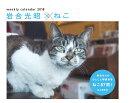 【予約】カレンダー2018 岩合光昭×ねこ 週めくり卓上