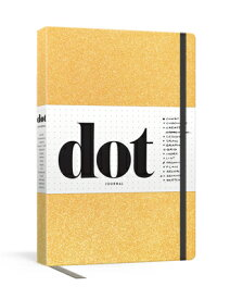 Dot Journal (Gold): A Dotted, Blank Journal for List-Making, Journaling, Goal-Setting: 256 Pages wit DOT JOURNAL (GOLD) [ Potter Gift ]