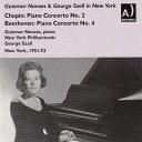 【輸入盤】ショパン:ピアノ協奏曲第2番、ベートーヴェン:ピアノ協奏曲第4番 ノヴァエス、セル&ニューヨーク・フィ…