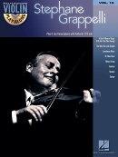 【輸入楽譜】グラッペリ, Stephane: バイオリン・プレイ・アロング 第15巻: ステファン・グラッペリ(オーディオ・オ…