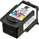 エコリカ キヤノン BC-341対応 リサイクルインクカートリッジ カラー(染料) ECI-C341C-V