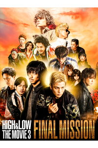 HiGH&LOWTHEMOVIE3〜FINALMISSION〜(豪華盤)【Blu-ray】[AKIRA]