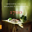 【輸入盤】『1700〜18世紀イタリア・バロック作品集』 リナルド・アレッサンドリーニ&コンチェルト・イタリアーノ