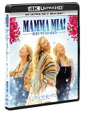 【予約】マンマ・ミーア! ヒア・ウィー・ゴー 4K ULTRA HD + Blu-rayセット(英語歌詞字幕付き)【4K ULTRA HD】