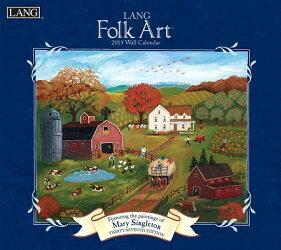 Lang Folk Art 2019 14x12.5 Wall Calendar