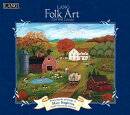 Lang Folk Art 2019 14x12.5 Wall Calendar