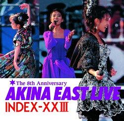 ゴールデン☆ベスト 中森明菜 AKINA EAST LIVE INDEX-10103