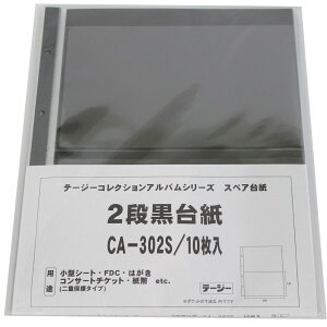 テージー コレクションアルバムスペア 切手ブロック他 CA-302S コレクションアルバム (文具(Stationary))