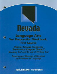 NevadaLanguageArtsTestPreparationWorkbook,FirstCourse:HelpforNevadaProficiencyExaminatio