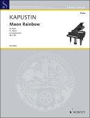 【輸入楽譜】カプースチン, Nikolai: ムーン・レインボウ Op.161