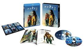アクアマン 3D&2Dブルーレイセット(2枚組/ブックレット&キャラクターステッカー付)(初回仕様)【Blu-ray】 [ ジェイソン・モモア ]