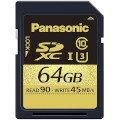 Panasonic 64GB SDXCメモリーカード RP-SDUC64GJK